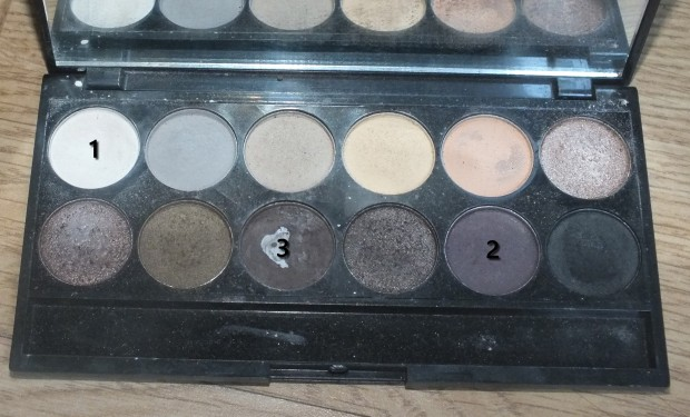 Palette SLEEK, au naturel.